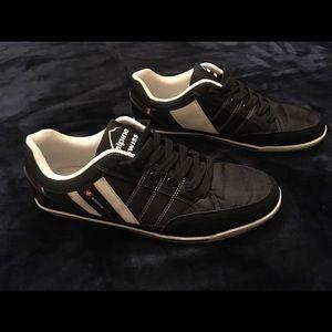 Men's Alpine Swiss Shoes - Black - Size 10
